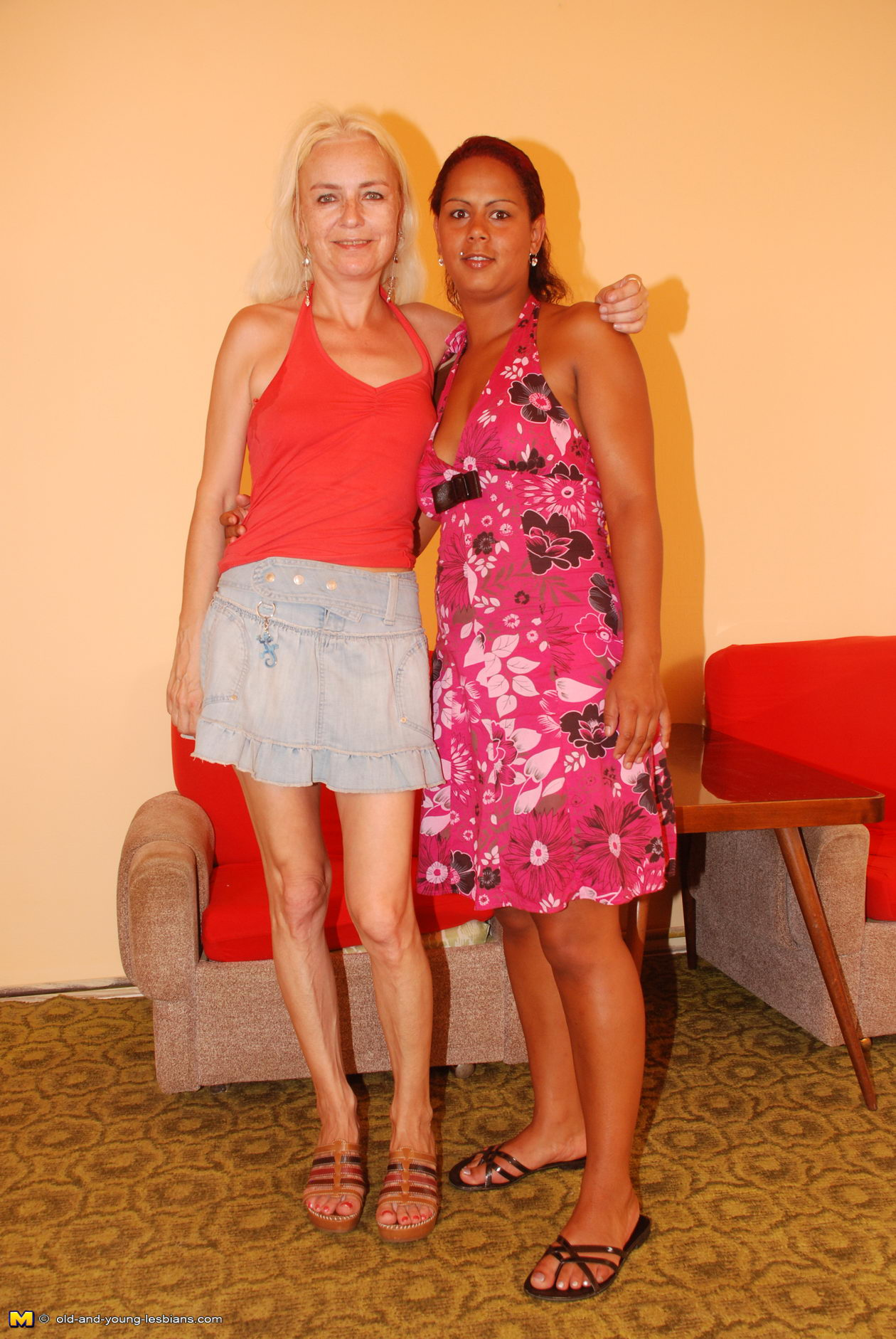Old Young Lesbian Pantyhose
